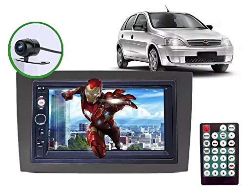 Central Multimídia Som Rádio Chevrolet Corsa Gm + Câmera Ré