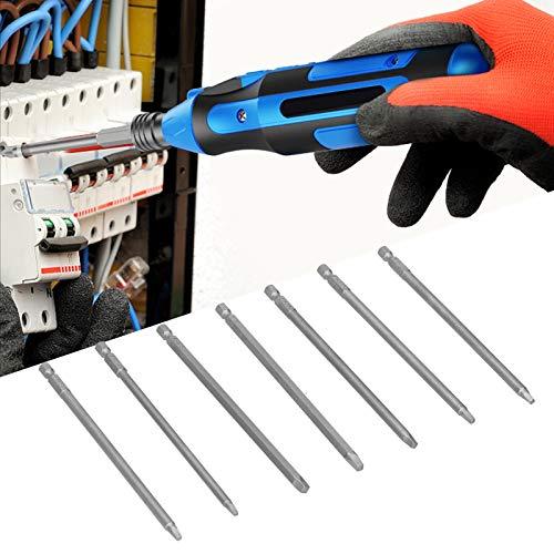 Punta de destornillador, Punta de destornillador cuadrada, Acero al cromo vanadio Hogar para herramientas de herramientas industriales