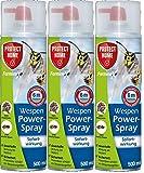 Protect Home Forminex Wespen-Powerspray 3 x 500 ml - Mit Gratis Gardopia Zeckenzange