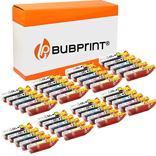 40 Bubprint Cartuchos de Tinta Compatible para Canon PGI-550 CLI-551 XL para Pixma IP7200 IP7250 IX6850 IP8750 MG5450 MG5550 MG5650 MG6350 MG6450 MG6650 MG7150 MG7550 MX725 MX920 MX925 Multipack