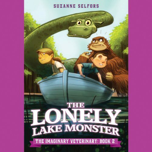 The Lonely Lake Monster audiobook cover art