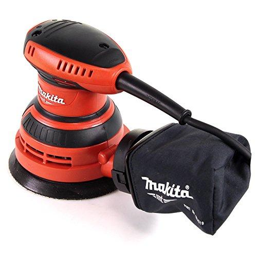 Makita M9204 - Ponceuse rotorbitale 125 mm 240 W Noir/Rouge