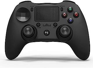 Ps4コントローラー[2020最新型] ワイヤレス ゲームパッド 振動機能搭載 高耐久性キー ゲームパッド bluetooth PC コントローラー 無線 DUALSHOCK4用 日本語取扱説明書