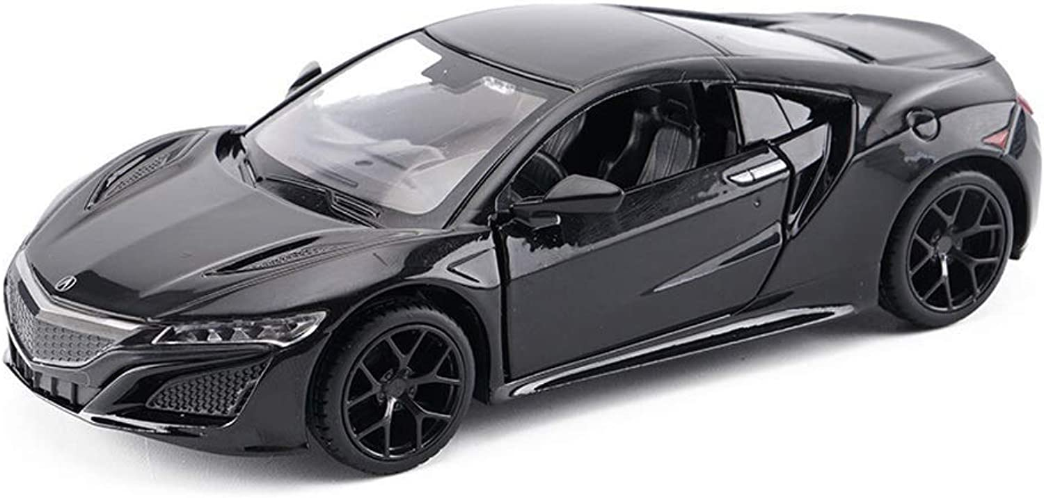 CheF Vehicle Playsets Scale 1 32 Honda Acura NSX Model Alloy Diecast Car Model Toys Collection ( color   Black )