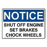 Compliancesigns Wheel Chocks