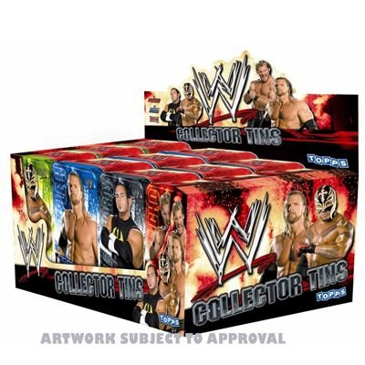 Topps TO817 - Topps - Wrestling WWE Power Chipz Collector Tins