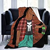 Not Applicable Blanket Hello World Bo-Jack Horse-Man Ultra Fleece Peso Ligero...