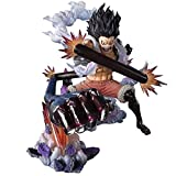 YIGEYI One Piece Anime Figura Monkey D Luffy Snakeman King Cobra ACCIÓN Figura 6.3 Pulgadas Figuras ...
