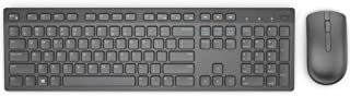 DELL Wireless Keyboard and Mouse (US English) KM636 Black Retail,Black,KM636