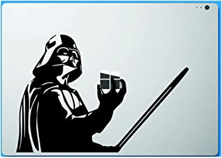 Star Wars Darth Vader Holding Apple Macbook Decal Vinyl Sticker Apple Mac Air Pro Retina Laptop sticker, Model: , Electronic Store
