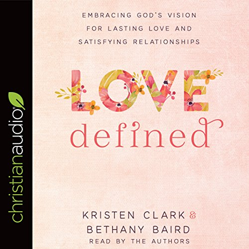 Love Defined audiobook cover art
