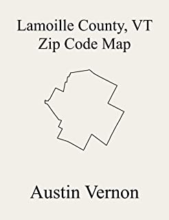 Lamoille County, Vermont Zip Code Map: Includes Hyde Park, Morristown, Wolcott, Belvidere, Cambridge, Eden, Elmore, Johnson, Stowe, and Waterville