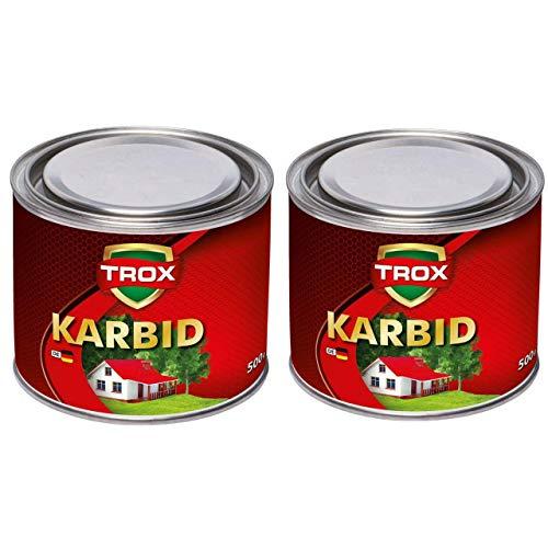Sanimix24 Calciumcarbid 1,0 Kg Karbid als Granulat - Feste Steine - 10-30 mm Körnung - lange Wirkung und hohe Gasentwicklung