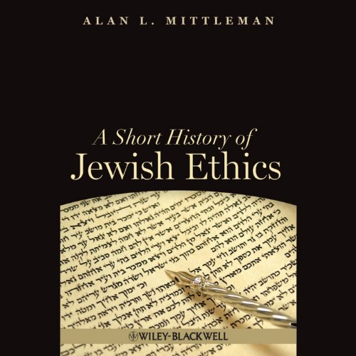 A Short History of Jewish Ethics audiobook cover art