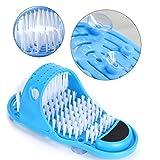 Cepillo para pies, más de 1000 pies de cepillo para el cabello de todas las edades Zapatilla Operación razonable y fácil con piedra incorporada para sus pies