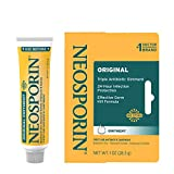 Neosporin Original First Aid Antibiotic Ointment with Bacitracin Zinc...