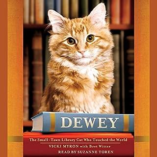 Dewey audiobook cover art