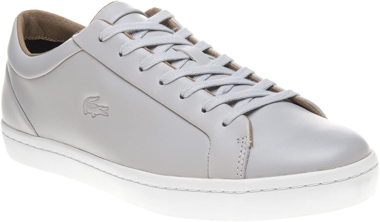 Lacoste Straight Set Trainers Grey