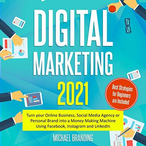 Digital Marketing 2021 cover art