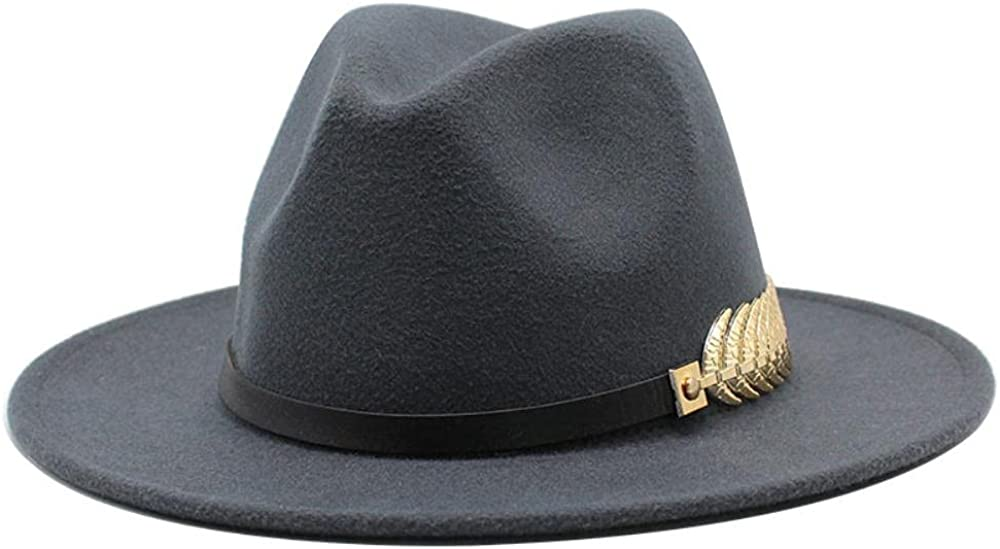 Women's and Men's Fedora Hat Classic Panama Fort Worth Sale Special Price Mall Wide Wo Brim Elegant