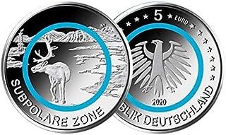 5 € Deutschland 2020 - Subpolare Zone. Aus der Serie Klima