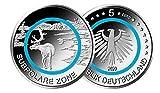 5 € Deutschland 2020 - Subpolare Zone. Aus der Serie Klimazonen der Erde