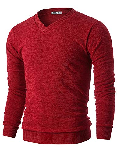 What to Wear With Red Sweaters Mens