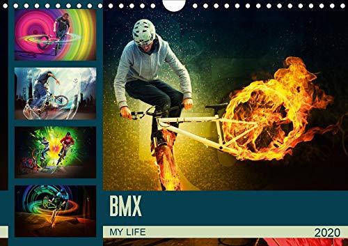 BMX My Life (Wandkalender 2020 DIN A4 quer): Einmalig fantastische BMX Bilderwelten (Monatskalender, 14 Seiten )