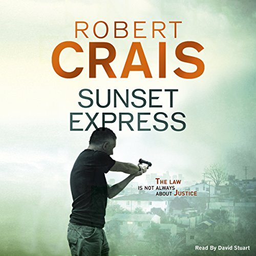 Sunset Express audiobook cover art