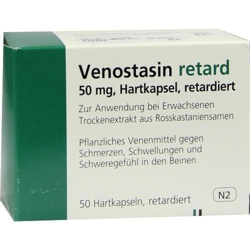 VENOSTASIN RETARD 50St Retard-Kapseln PZN:6637810