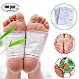 Fencia® 100 Foot Patches Natural Detox Foot Pads Patch Detoxify Toxins Pain Relief