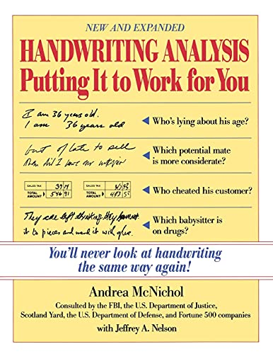 Handwriting Analysis : Putting It to Work for You