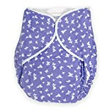 Rearz - Omutsu Bulky Fitted Nighttime Cloth Diaper (Purple - Butterfly) (Large/X-Large)