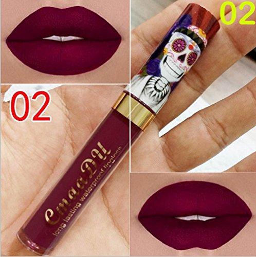 ILOVEDIY Rouge à Lèvres Mat Longue Tenue Liquide Maquillage Waterproof à Lèvres Lip Gloss Matte...