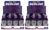 VPX Redline Max 300 7-Hour Energy, Grape, Packed w/Amino Acids, Electrolytes and Vitamins 24/2.5oz
