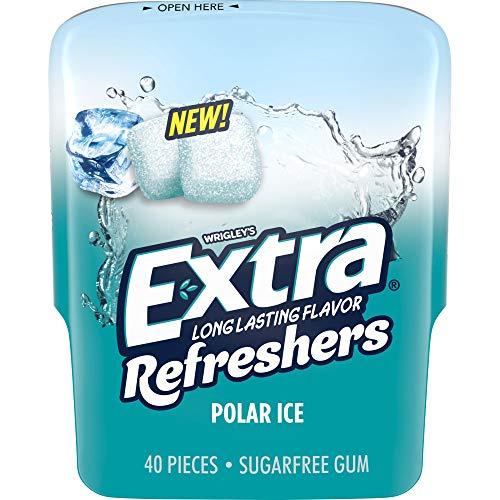 Wrigley's EXTRA Refreshers Polar Ice Chewing Gum - 3.2oz/40ct