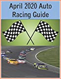 April 2020 Auto Racing Guide: Track stats for each race in the Nascar series in this large 8.5 inch x 11 inch journal/guide for the month of April 2020