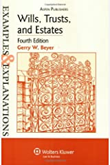 Wills, Trusts, and Estates Examples & Explanations Paperback