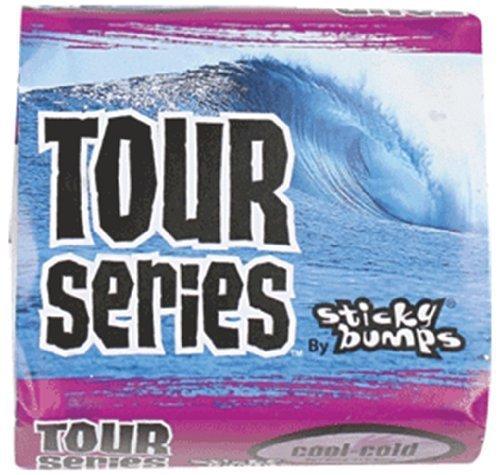 Sticky Bumps Tour Series Cool/frío solo Barra Cera para tablas de surf por Sticky Bumps