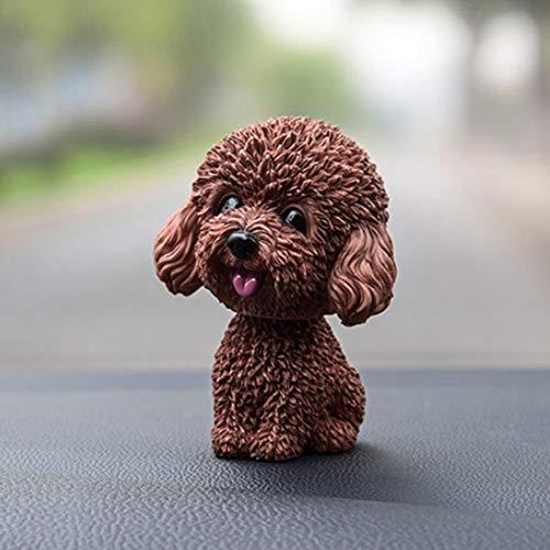 KEIBODETRD Auto Nette Nicken Schütteln Kopf Hund Puppe Verzierungen,Kopf Hunde Für Autos,das Kopf-Hund Rüttelt Ornamente Auto-Schwingen-Hundekarikatur-Auto-Puppe