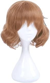 ROLECOS Mafuyu Hoshikawa Cosplay Wig Womens Bob Hair Wigs Brown
