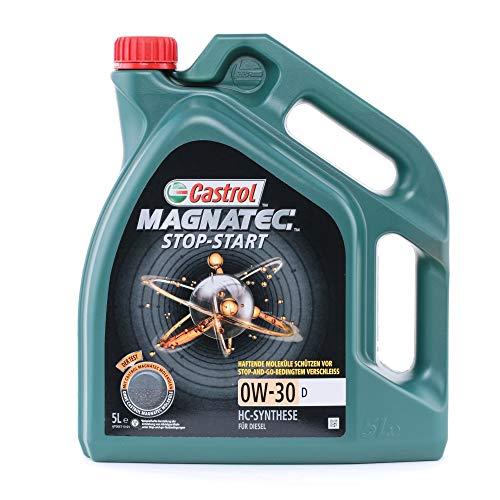 Castrol 159C66Magnatec Stop de Start motorenöl 0W de 30D 5L