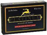 Modiano Ramino Platinum 2 Jumbo Index - Acetato - Carte da Gioco...