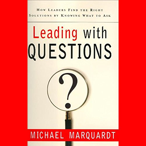 Leading with Questions audiobook cover art