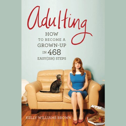 Adulting audiobook cover art
