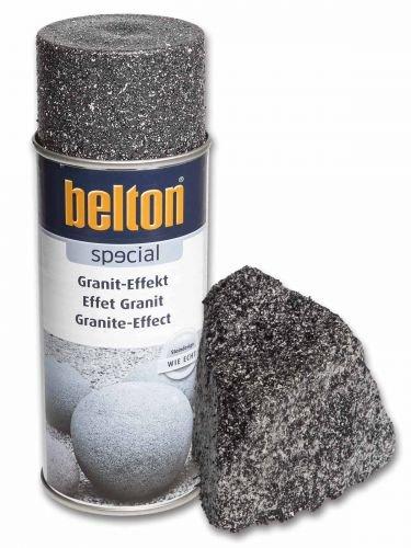 Granit-Effekt-Spray obsidian-schwarz 400ml Belton Special