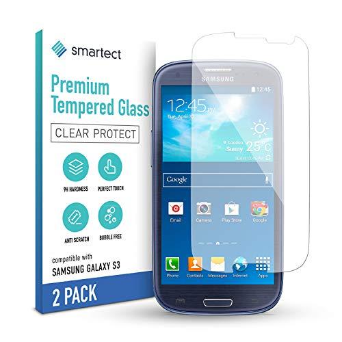 smartect Panzerglas kompatibel mit Samsung Galaxy S3 / S3 NEO [2 Stück] - Tempered Glass mit 9H Festigkeit - Blasenfreie Schutzfolie - Anti Fingerprint Panzerglasfolie