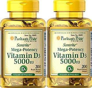 2 VITAMINA D3 5000 IU 200 PERLAS, Vitamin D3
