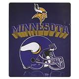 Minnesota Vikings Lightweight 50' x 60' Fleece Blanket - Reflecting Helmet