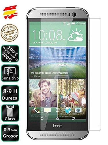 Movilrey Protector para HTC Desire 610 Cristal Templado de Pantalla Vidrio 9H para movil